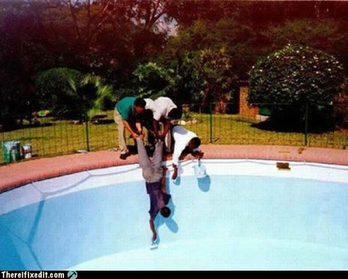 There I Fixed It: 3 Guys and a Schmuck Pool Service