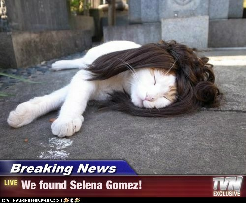 Breaking News - We found Selena Gomez!
