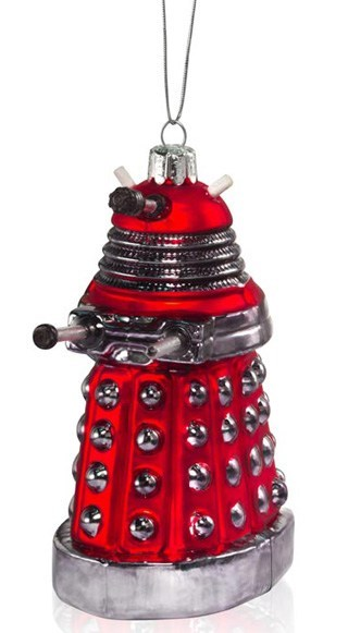 christmas ornament,dalek,doctor who,nerdgasm,ornament,pop culture,sci fi