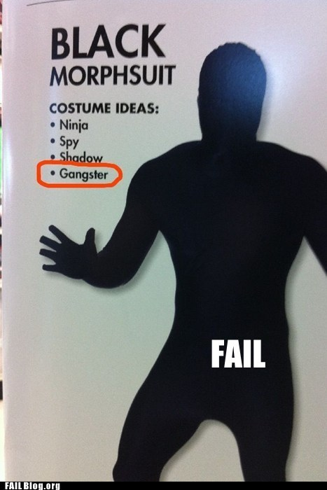 Costume Idea FAIL