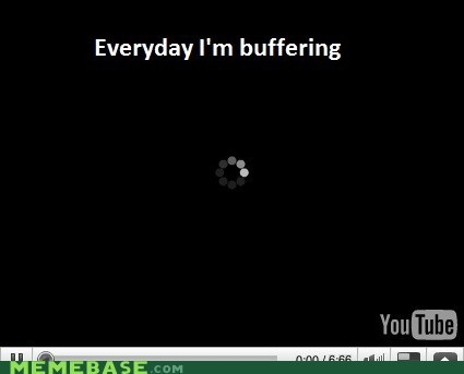 "This Happened When I Was Trying to Watch ""Shuffling"""