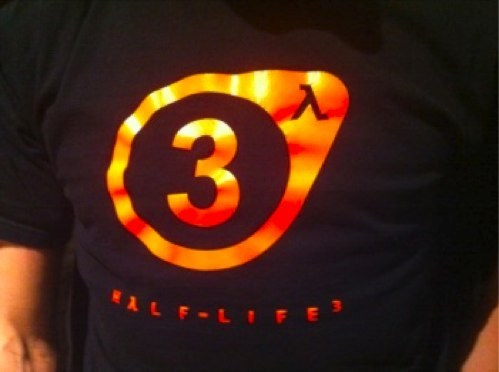 Valve Half-Life 3 Tee of the Day