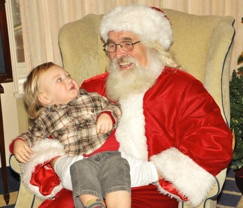 Visual Confirmation: Yes, That is a Santa. Proceed With Caution.