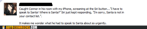There Were Worse Things Siri Could Have Said About Santa