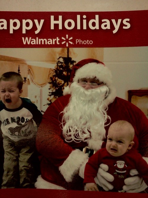 Maybe They're Just Sad to Be in Walmart?