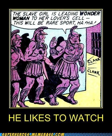 All Roman Soldiers Are Voyeurs