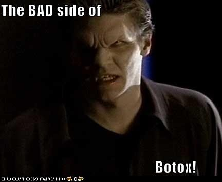 angel,bad,botox,Buffy the Vampire Slayer,David Boreanaz,downsides,vampire,wrinkles