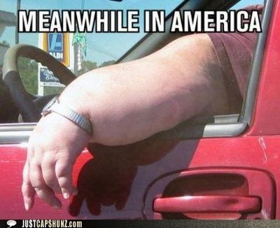america,disgusting,fat,fat person,gross,meanwhile in america,obese,overweight