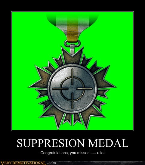 SUPPRESION MEDAL