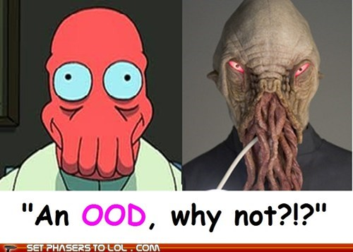 Doctor Who? Why Not Zoidberg