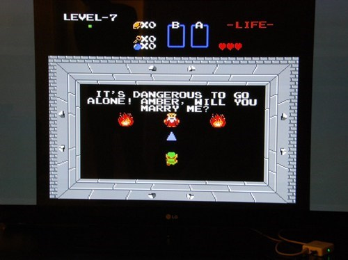 Zelda Marriage Proposal of the Day