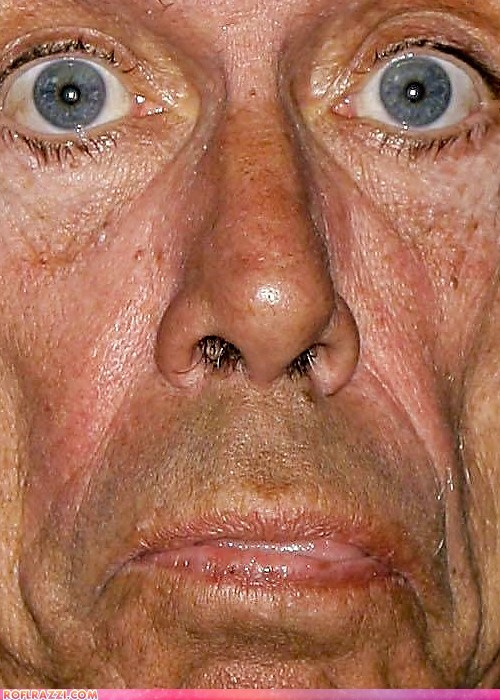 10 Terrifying Celebrity Close-ups