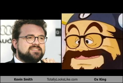 Kevin Smith Totally Looks Like Ox King