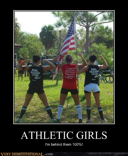 ATHLETIC GIRLS