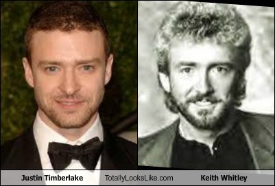 Justin Timberlake Totally Looks Like Keith Whitley