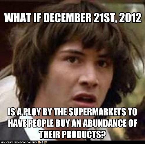 Conspiracy Keanu: Stocking Up on Twinkies