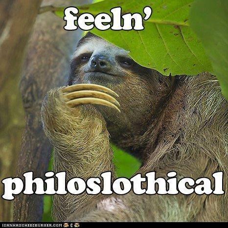 Feelin' Philosophical