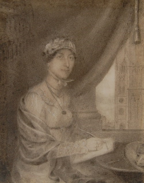 Lost Jane Austen Portrait of the Day