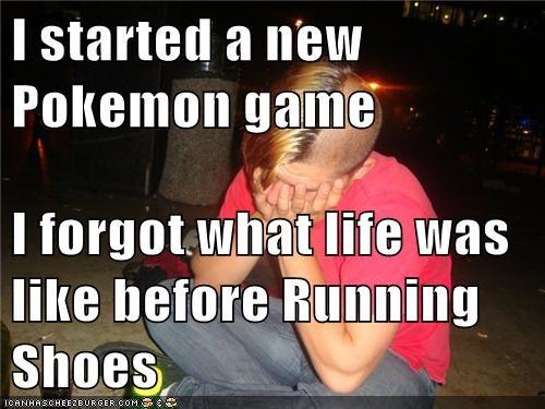 bike,emolulz,First World Problems,Pokémon,running,slow