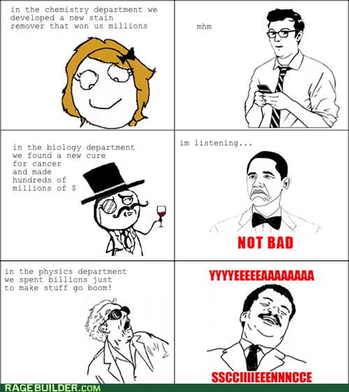 Rage Comics: At Least We'll Go Out With a Bang