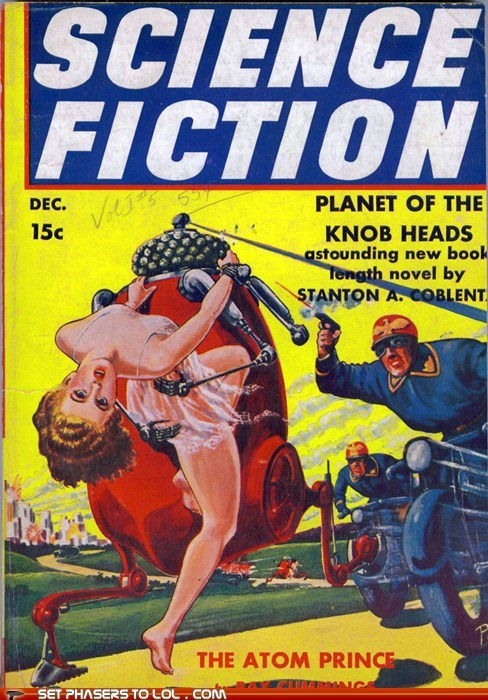 WTF: Sci-Fi Book Covers: Planet of the Knob Heads