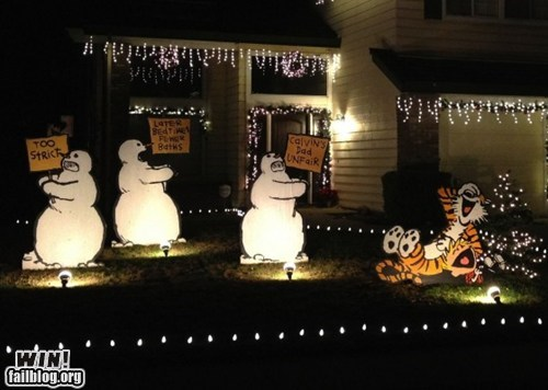 WIN!: Lawn Decorations WIN
