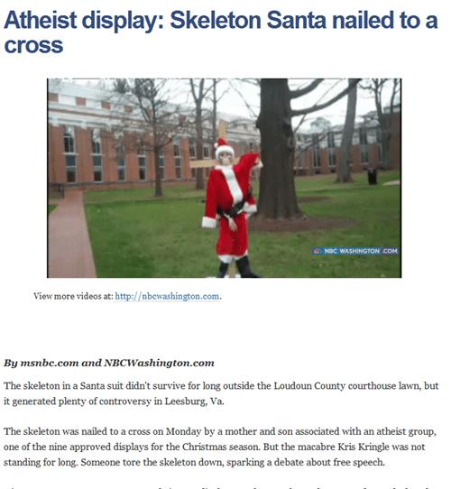 Saint Nick News: A Very Cynical Christmas