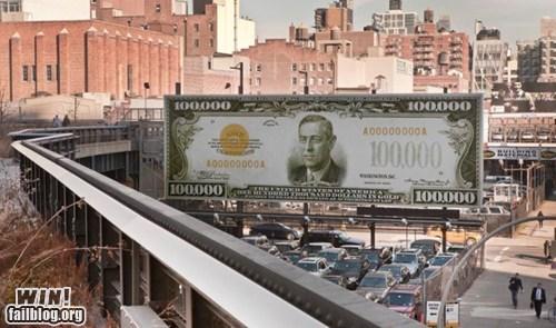 art,bill,hacked irl,making paper,money,Street Art