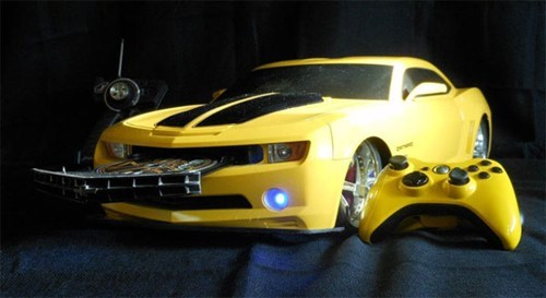 Transformers Bumblebee Xbox Mod of the Day