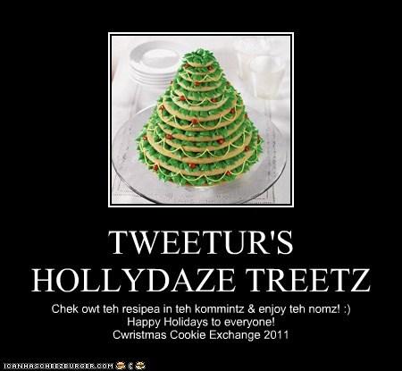 TWEETUR'S HOLLYDAZE TREETZ