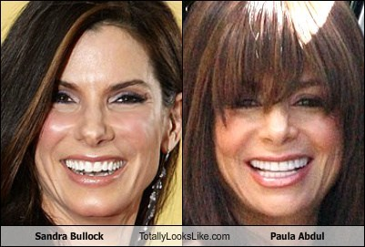 Sandra Bullock Totally Looks Like Paula Abdul