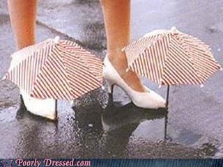 rain gear,solves the problem,umbrella shoes