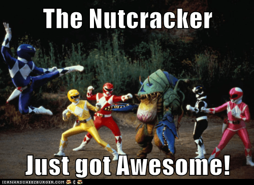 awesome,ballet,dancing,power rangers,The Nutcracker