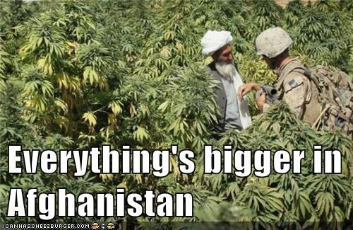 Everything's bigger in Afghanistan