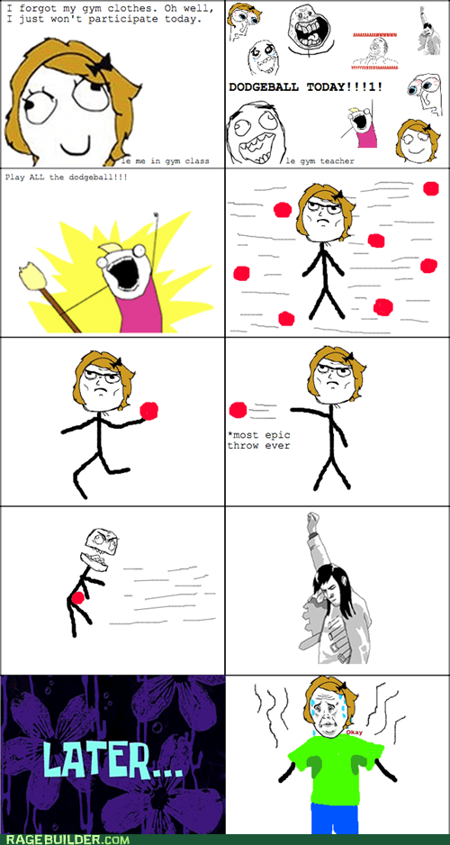 Rage Comics: Worth Every Sweat Stain