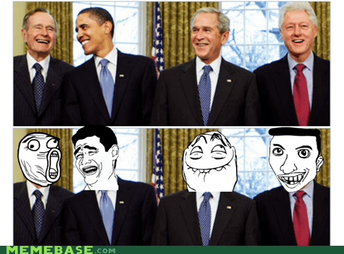 Laughing Presidents