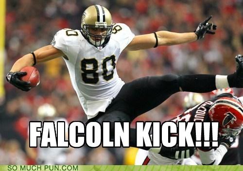 double meaning,FAIL,falcon kick,falcons,football,kicking,literalism,team