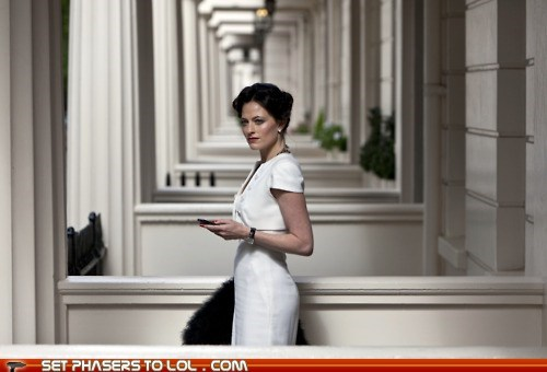 First Images of Steven Moffat's Irene Adler