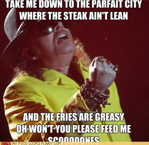 Axl Rose Wants a Snack