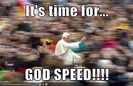 Warp to the Vatican