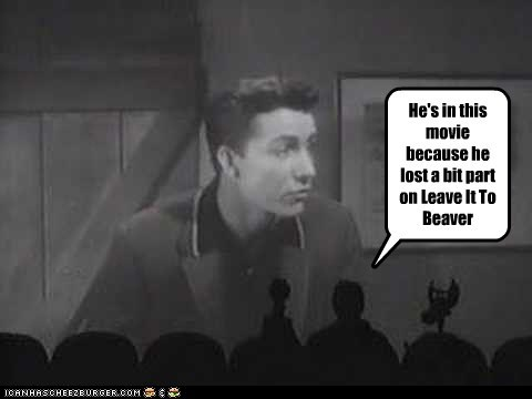 1950s,crow,Leave it to Beaver,mst3k,Mystery Science Theatre,tom servo