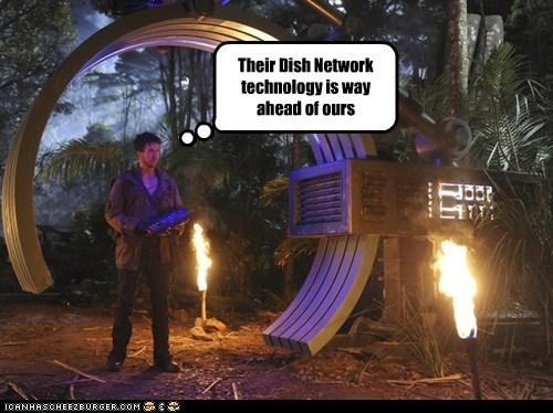 dinosaurs,dish network,gate,technology,terra nova