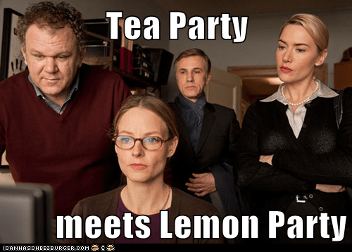 Tea Party  meets Lemon Party