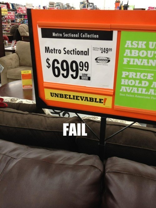 This Couch Goes Either Way FAIL