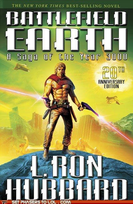 WTF Sci-Fi Book Covers: Battlefield Earth