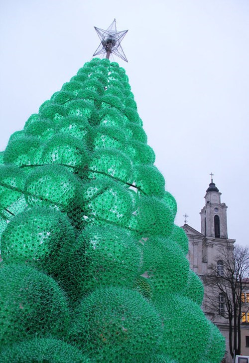 bottles,christmas,christmas decorations,christmas tree,decorations,plastic bottle,recycling