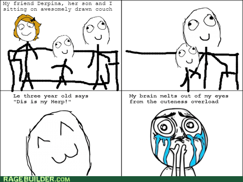 Rage Comics: I'd Like to Be Your Mommy's Herp Too