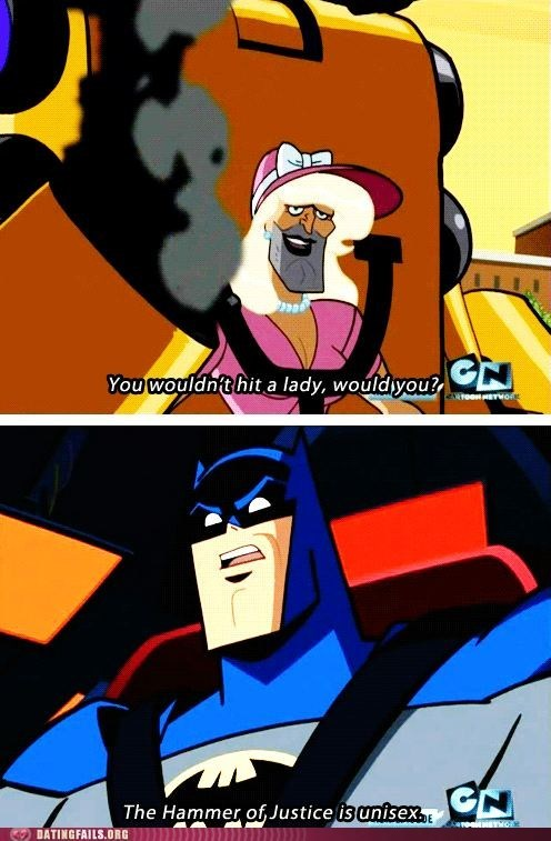 Batman Is All About Gender Equality