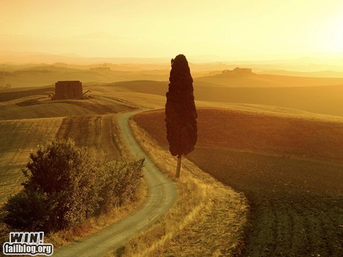 Mother Nature FTW: Tuscany