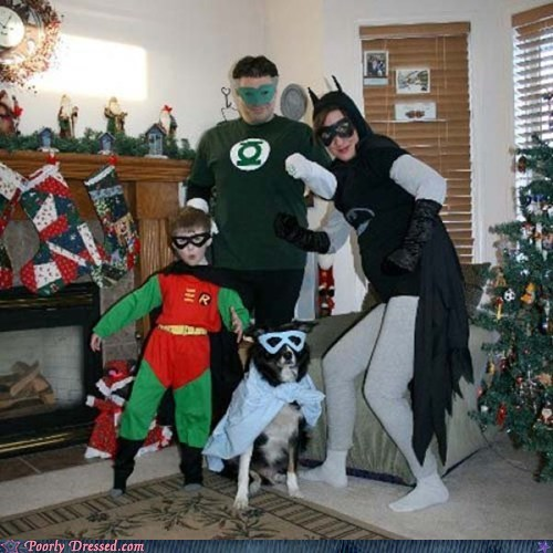 Merry Christmas from the Knock-Off Justice League